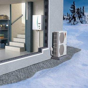 Тепловые насосы с водяным охлаждением конденсатора